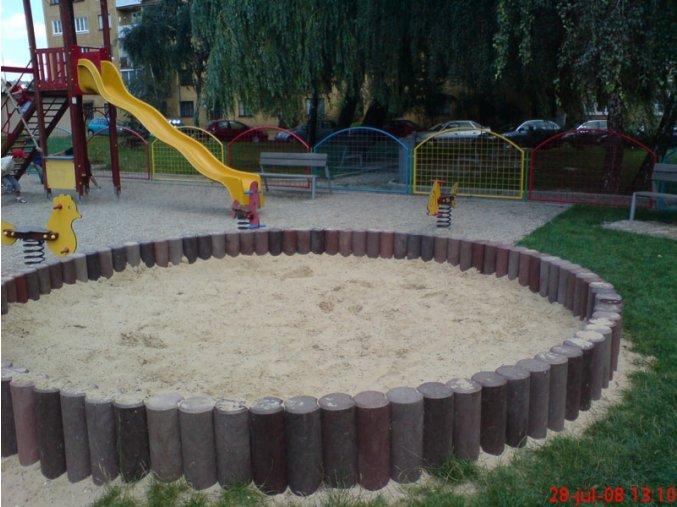 07 bb. Pieskovisko palisádové okrúhle