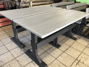 02 de klasický stôl dvojfarebný