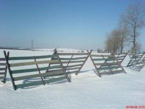 13 b. Snehová zábrana veľká