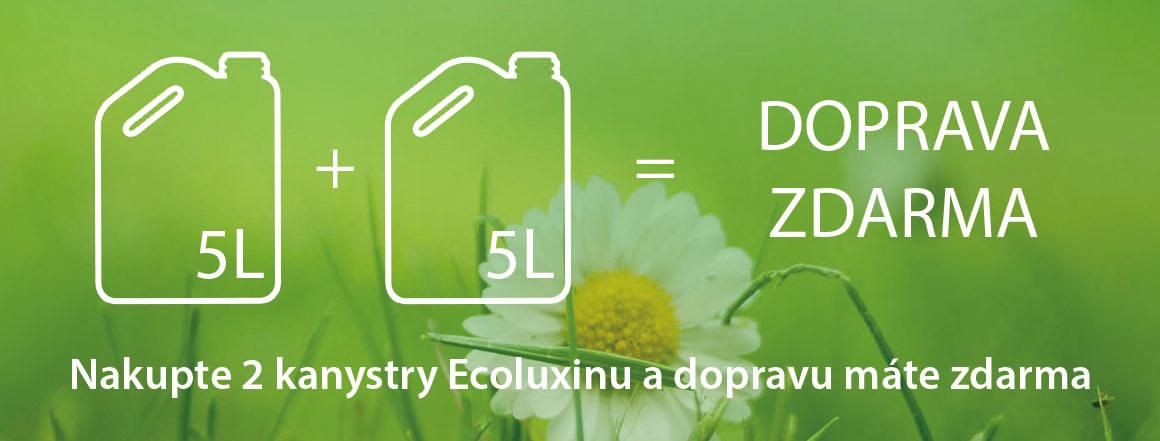 Ecoluxin - doprava při 2x 5L zdarma