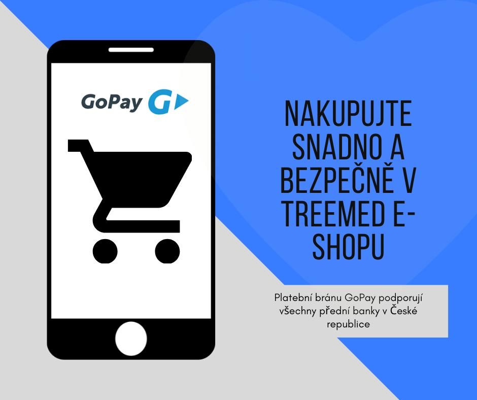 Plaťte jednoduše, používejte GoPay platby v našem e-shopu