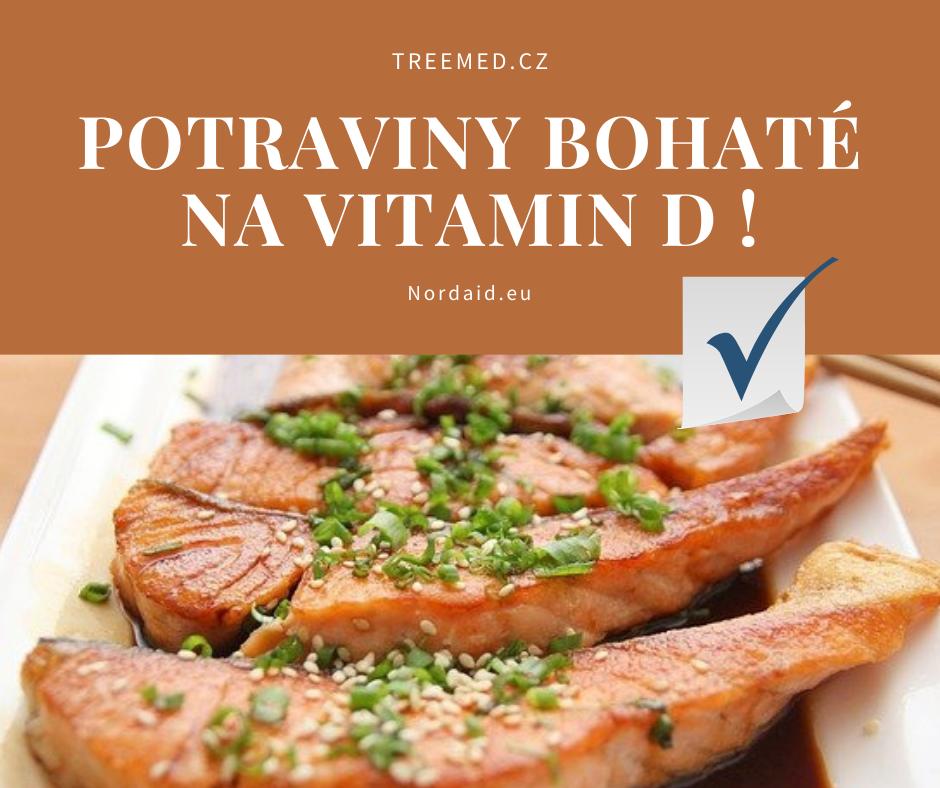 Potraviny bohaté na vitamin D
