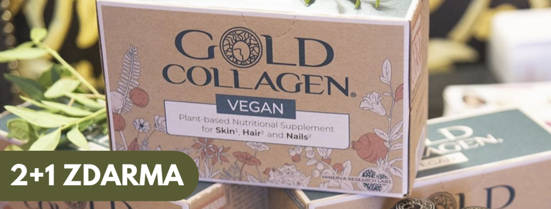 AKCE 2+1 zdarma Golg Collagen VEGAN