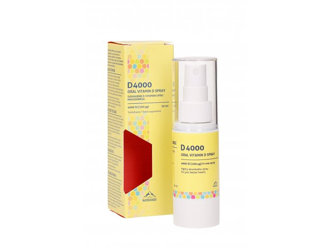 Vitamin D3 spray 4000 IU