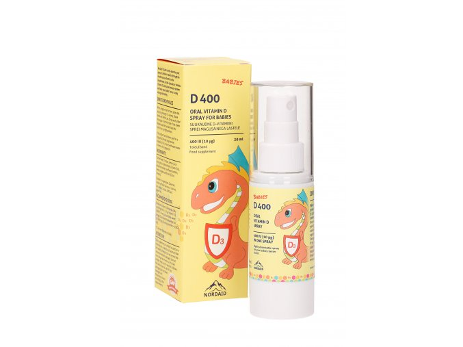 Vitamin D3 spray 400 IU pro děti