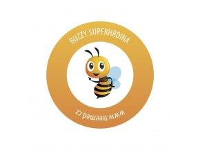 buzzy nalepka superhero 70x70mm real 50x50mm v2