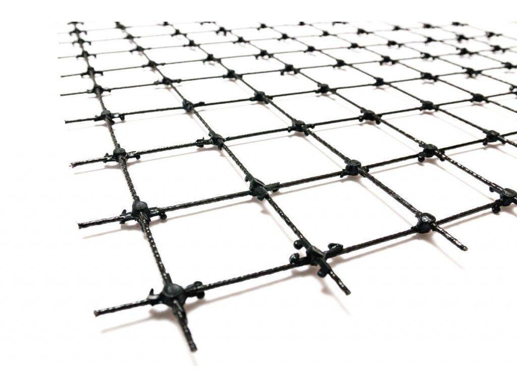 Kompozitní síť Ø3mm | oko 100x100mm | šíře 1,2m | 1m2