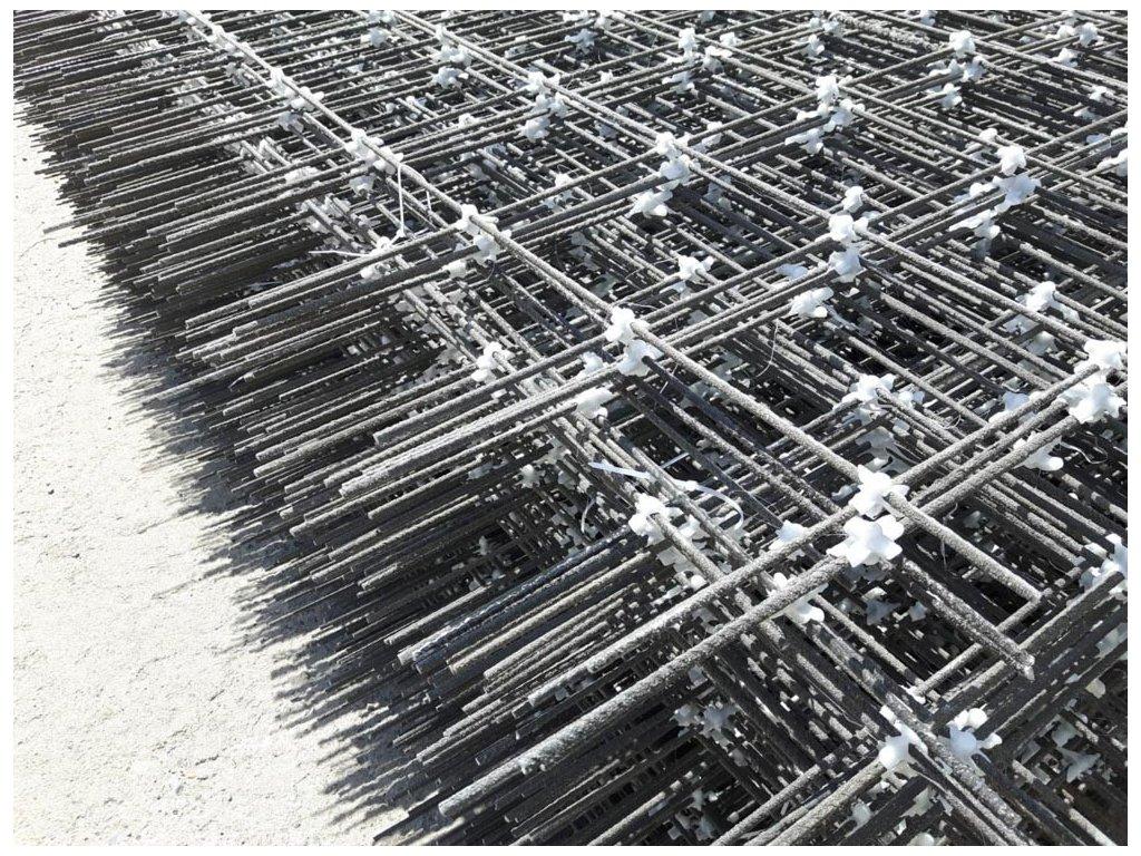 Kompozitní síť Ø6mm | oko 150x150mm | rozměr 3x2m (6m2)