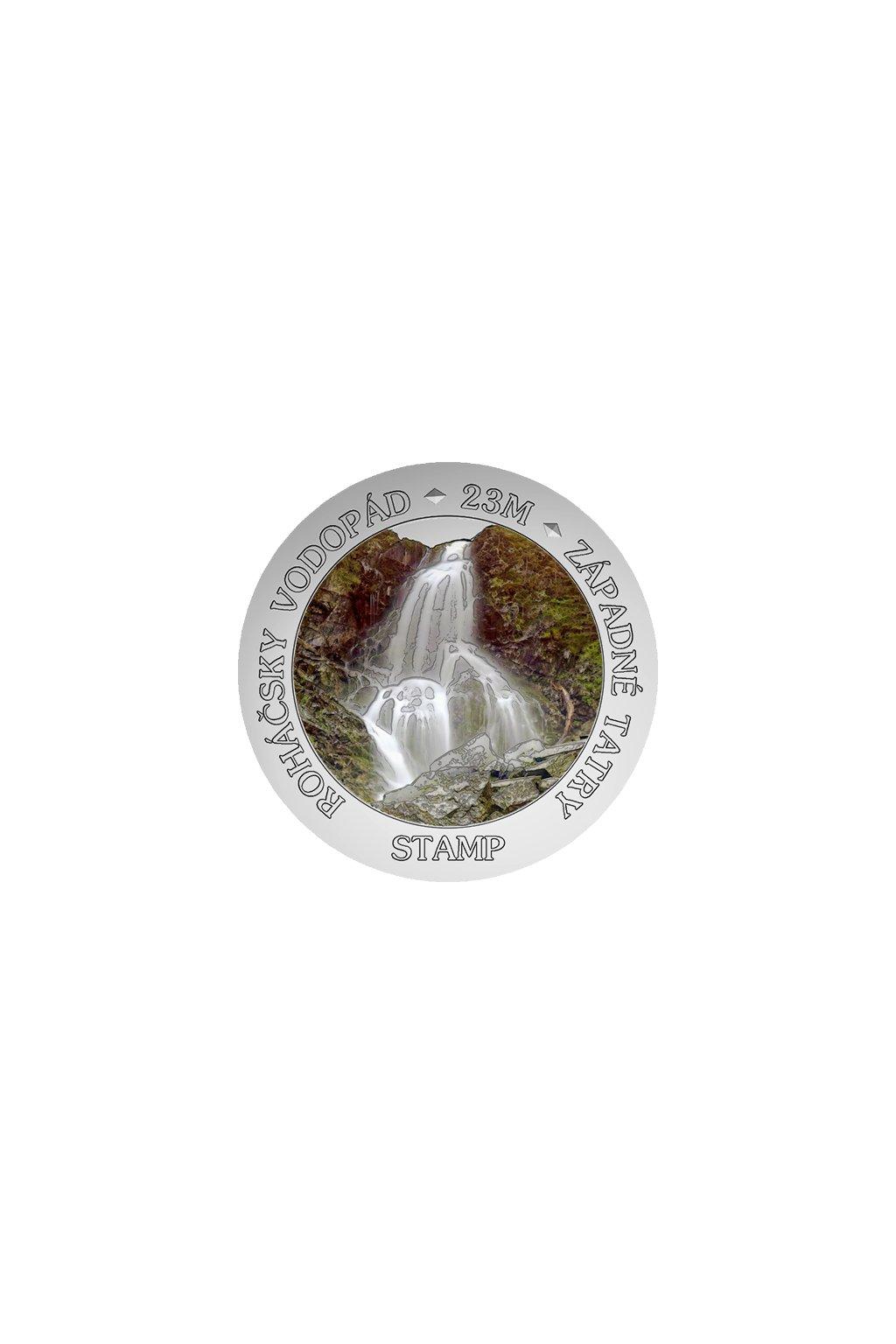 stamp sk rohacsky vodopad