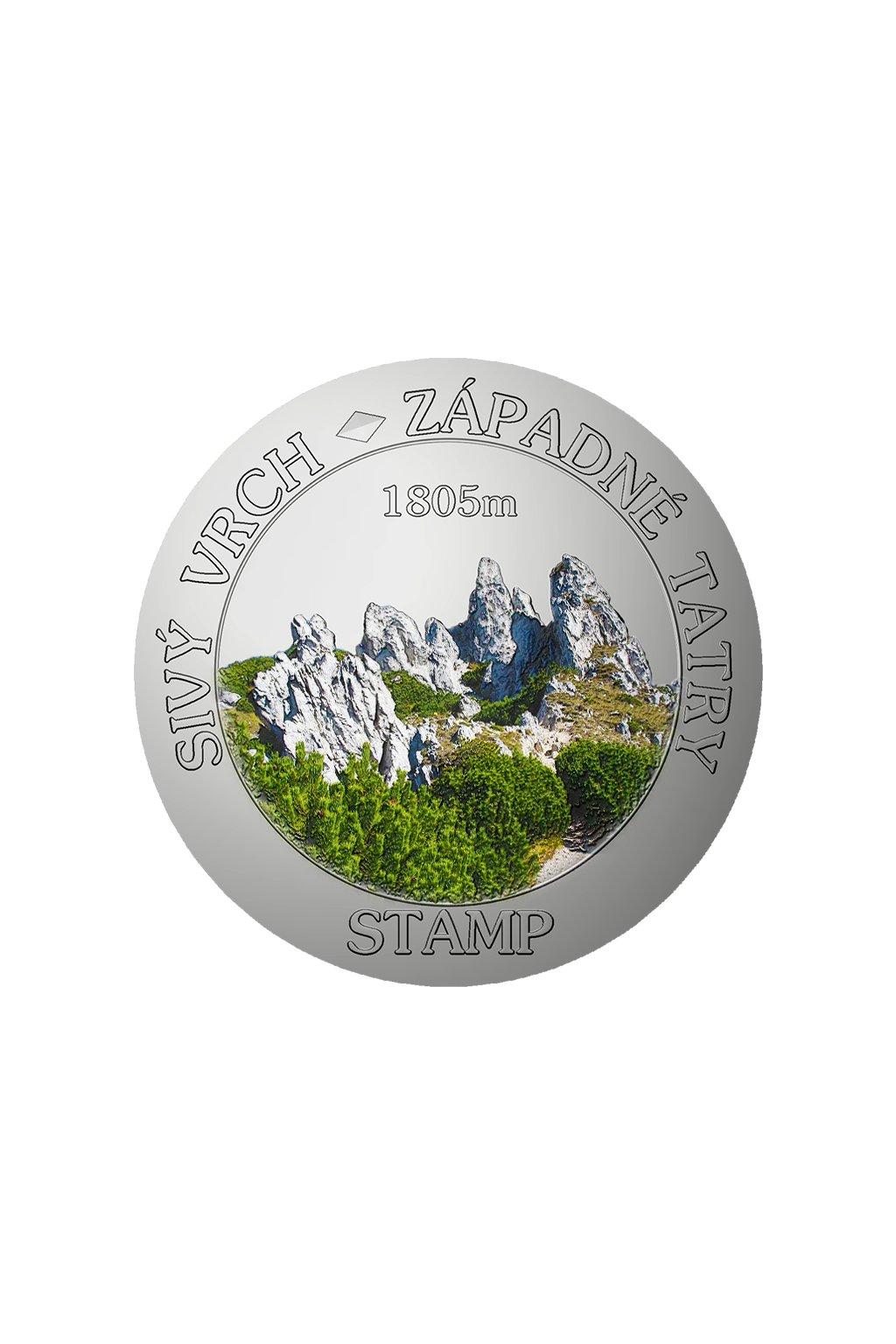 stamp sk sivy vrch