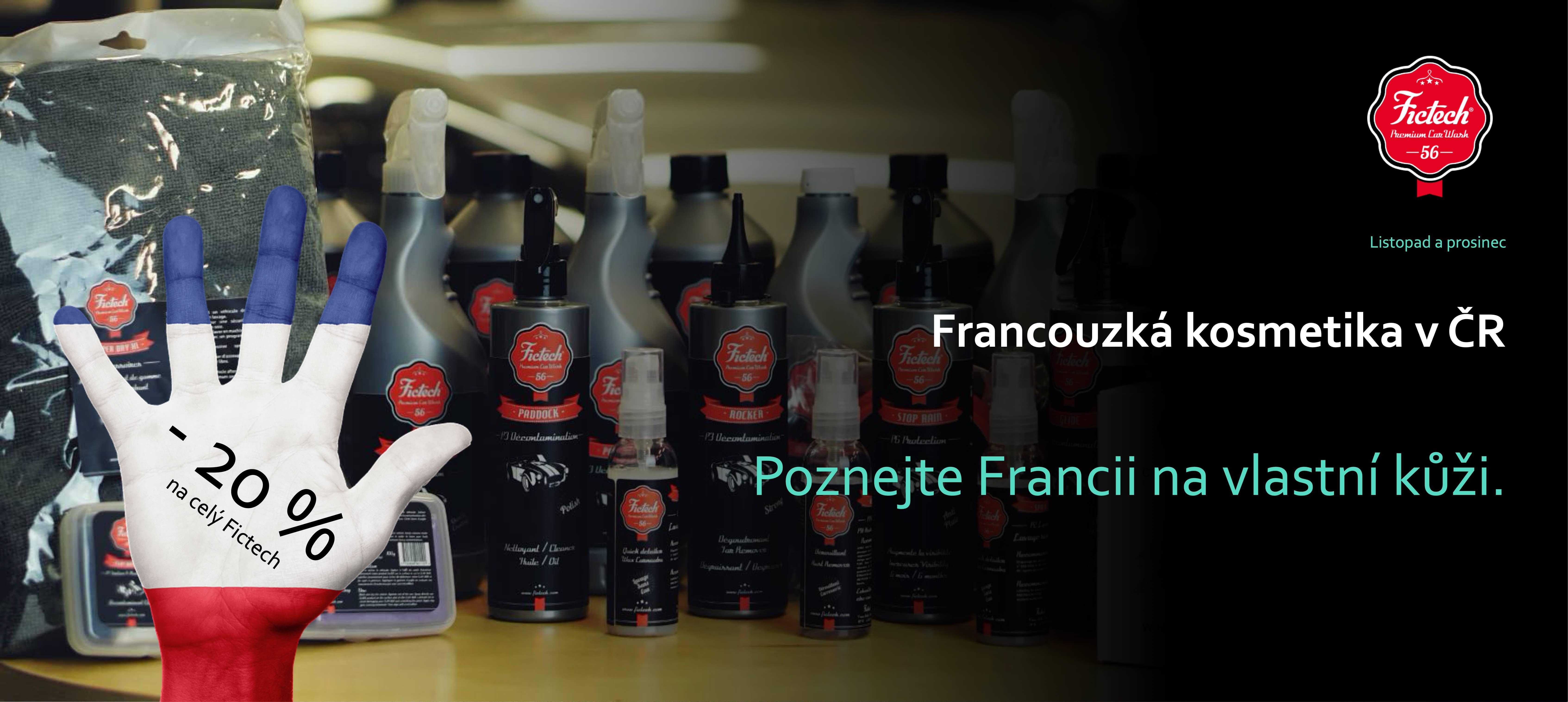 Autkomosmetika Fictech - pro profesionály i hobby uživatele