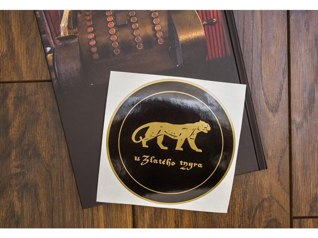3.Samolepka U Zlatého tygra