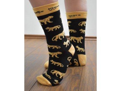 2.Ponožky Tygříci