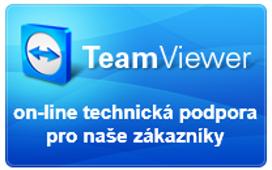 Vzdálená rychlá on-line podpora pro naše zákazníky.