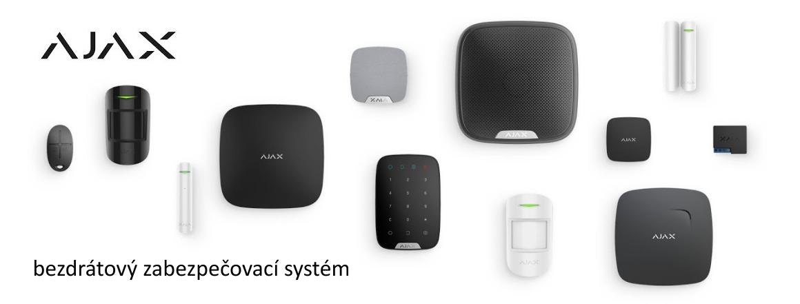 AJAX - bezdrátový zabezpečovací systém