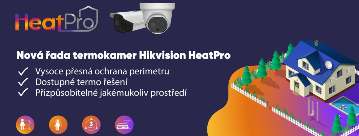 Nová řada termokamer HeatPro s 50% slevou