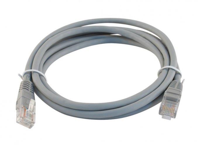 Patch kabel šedý