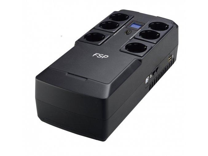 2940 3 fsp fortron ups nanofit 800 800 va 2xusb power lcd rj45 offline