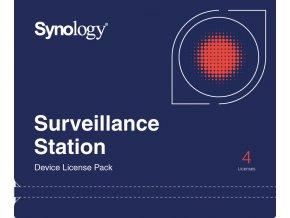 128 synology device license x 4 kamerova licence