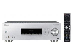 4718 pioneer audio prijimac 2 0 dab stribrny