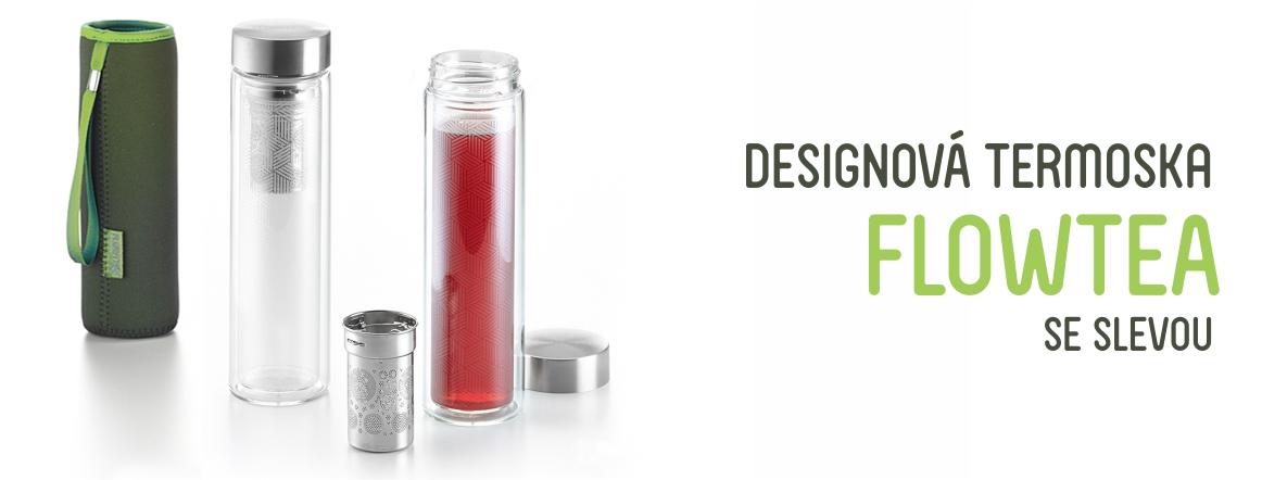 Designová termoska FlowTea
