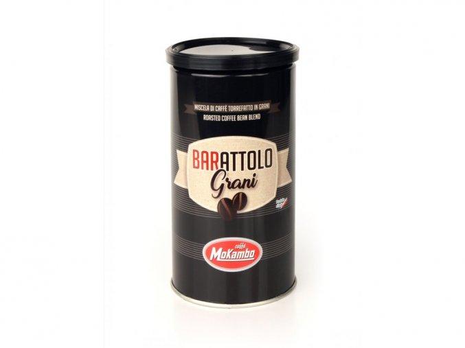 Mokambo Barattolo, plechovka 250 g zrnková káva