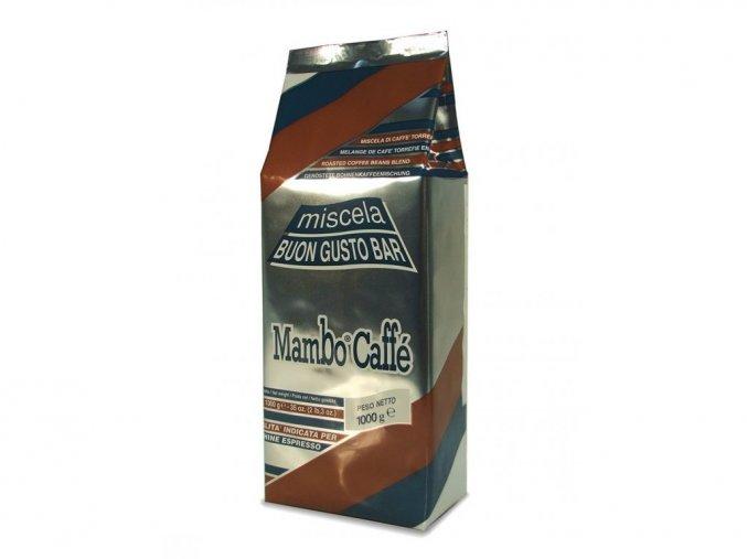 Mambo Caffé Buon Gusto Bar 1kg zrnková káva