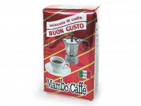 Mambo Caffé Miscela Buon Gusto 250 g mletá káva