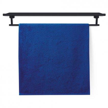 Ručník Veba FORTE hladký tmavě modrá