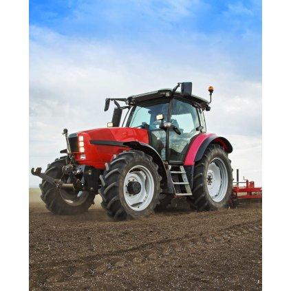 Mikroflanelova deka Traktor
