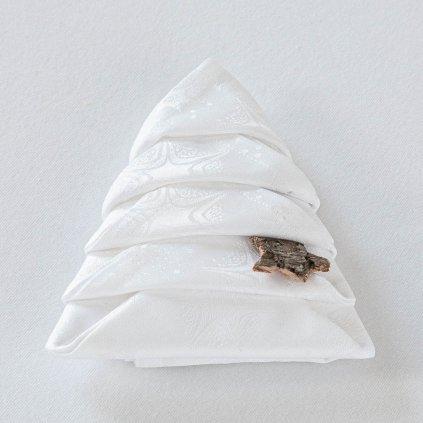 ubrousky Garbo vánoční hvězdy 144 0100 složený stromeček 6468