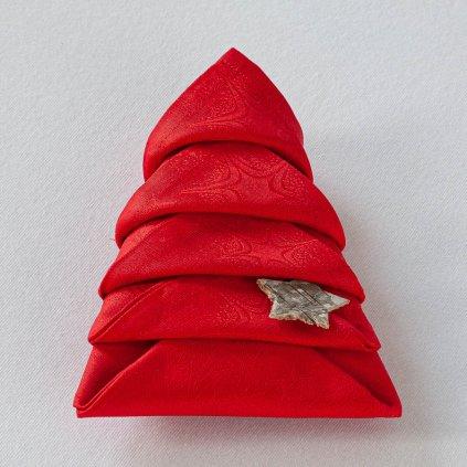 ubrousky Garbo vánoční hvězdy 144 3604 složený stromeček 6467
