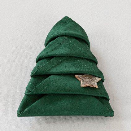 ubrousky Garbo vánoční hvězdy 144 6801 složený stromeček 6469