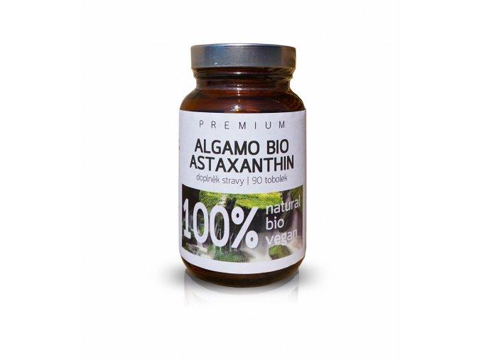 Astaxanthin základní - BIO Vegan 90 / 8 mg