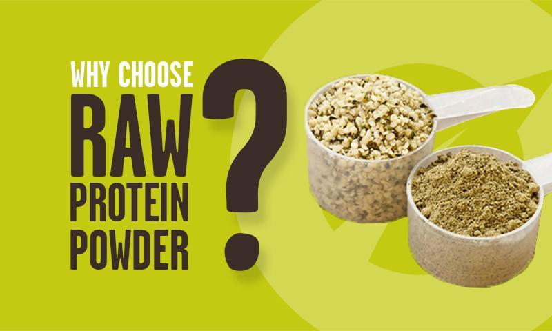 Proč si vybrat RAW proteinový prášek?