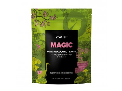 Magic Matcha Latte Mockup