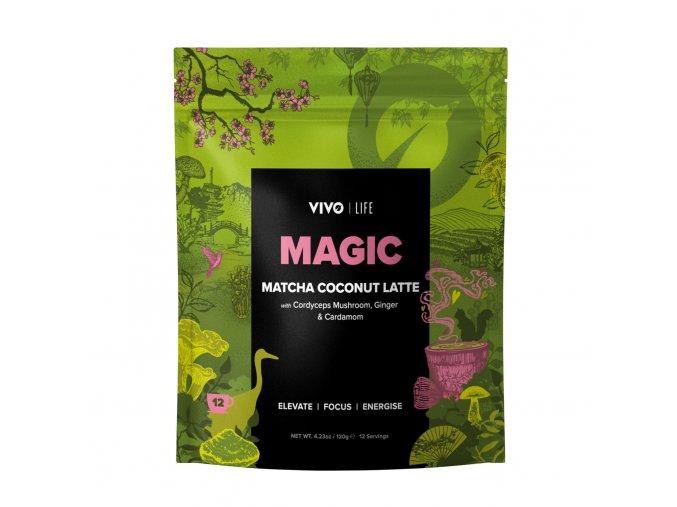 Magic Matcha Latte Mockup