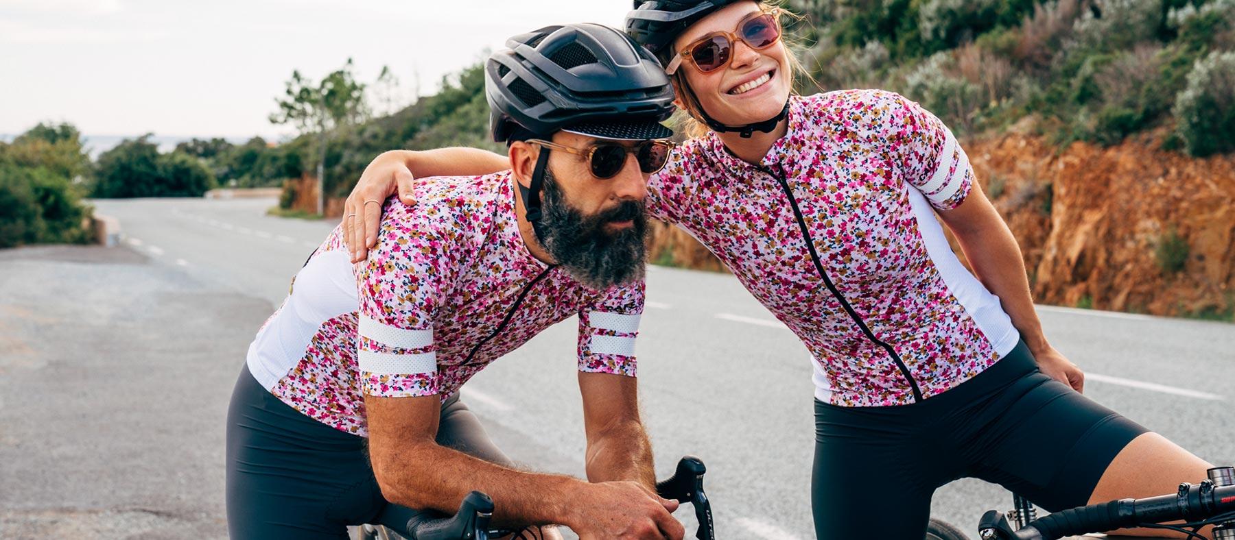 Dres na kolo FLORIANE Albizia Café du Cycliste