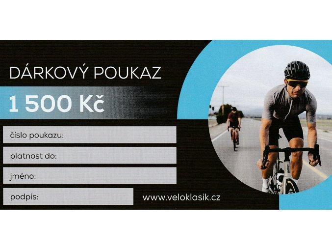 DÁRKOVÝ POUKAZ VELOKLASIK 1500,- Kč