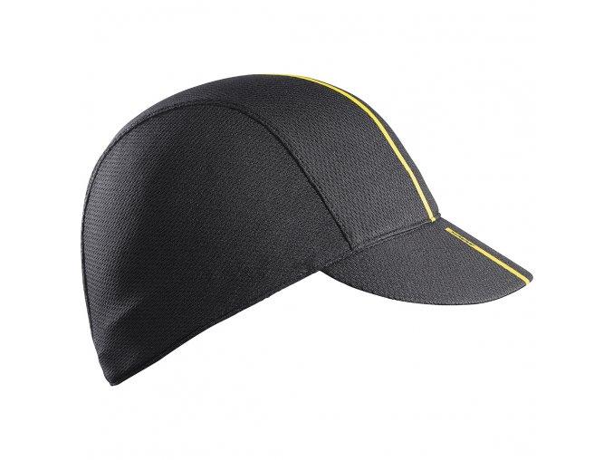 20 MAVIC - cyklistické čepice - kšiltovka na kolo ROADIE černá
