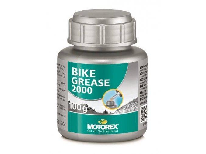 Vazelína na kolo MOTOREX BIKE GREASE 2000 100g
