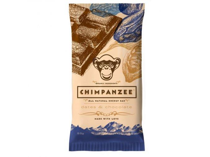 Energetické tyčinky - energetická tyčinka CHIMPANZEE ENERGY BAR Dates - Chocolate 55g