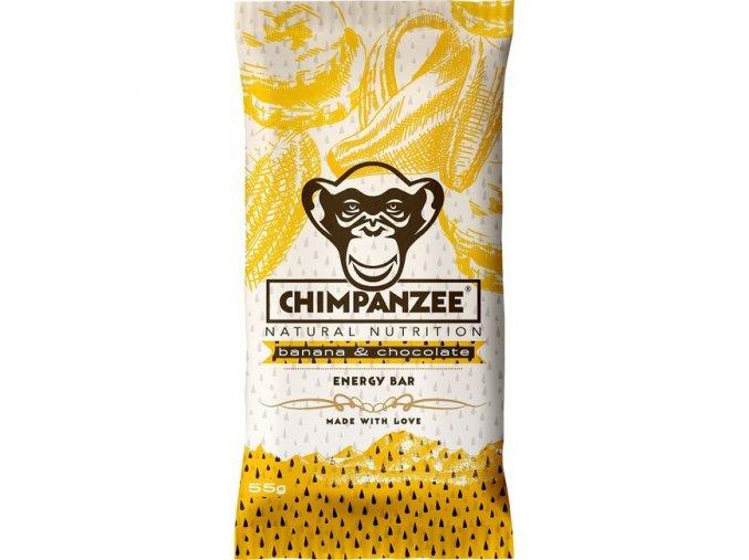 Energetické tyčinky - energetická tyčinka CHIMPANZEE ENERGY BAR Banana Chocolate 55g