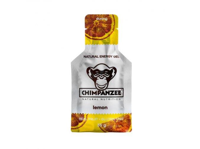 Energetické gely a bonbony - energetický gel CHIMPANZEE ENERGY GEL Lemon 35g, CZ-BIO-002