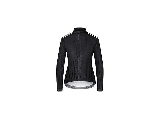 CAFÉ DU CYCLISTE - dámské cyklisktické bundy - ultralehká cyklo bunda do deště MAURICETTE černá