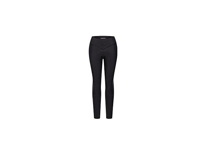 CAFÉ DU CYCLISTE - dámské cyklistické kalhoty - cyklo kalhoty zimní bez laclu - čapáky THERESA černá