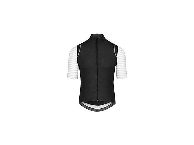 CAFÉ DU CYCLISTE - pánský cyklistický dres - cyklodres merino MONIQUE černá