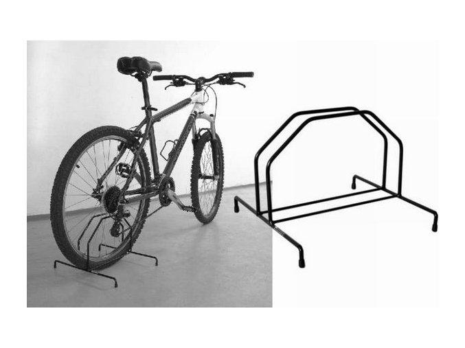 Držák na kolo - stojan na kolo výstavní úzký PEDALSPORT (PDS-DK-VU)