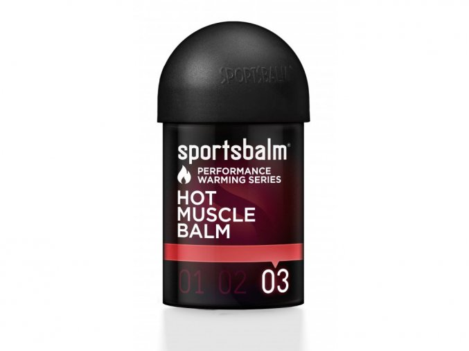 Hřejivá emulze Sportsbalm Hot Muscle Balm 03 - 150ml