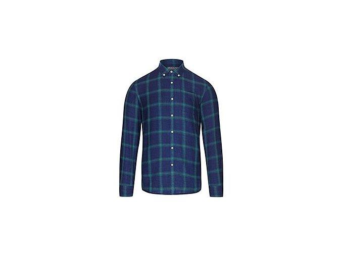 Košile bavlněná vhodná na kolo do města AMANDA námořní modrá